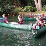 Baddow scouts kayaking