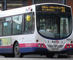 31 Bus at Chelmsford Station