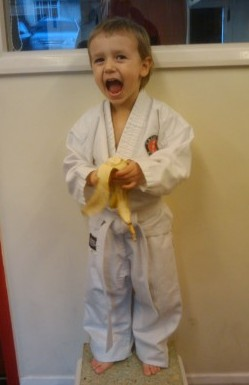 Young student at Kazen Kai