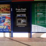 New cash point at Martins / The Post Office in the Vineyards