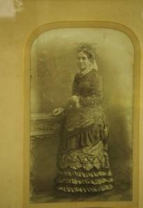 A portrait of Maria Aldridge