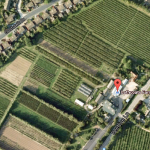 Aerial view of Lathcoats farm