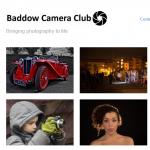 Baddow Camera Club website