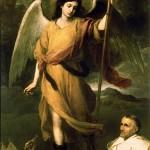 Saint Raphael the Archangel by Bartolomé Esteban Murillo