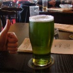 A pint of Sign of Spring from the Stonehenge brewery