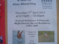 Waders and Raptors - Talk by Alan Shearring