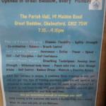 Kixa self defence course poster
