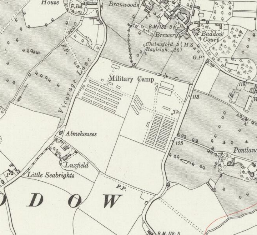 Map from 1923 OS