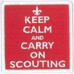 Keep Calm and Carry on Scouting