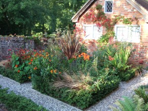 English backgarden. Garden designed and photo taken by Jasper33
