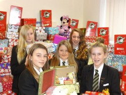 Operation Christmas Child Great Baddow Girls