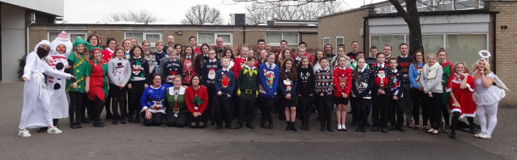 Baddow High Christmas Jumpers