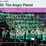 Great Baddow High School choir and Childrens Choirs from London Boroughs