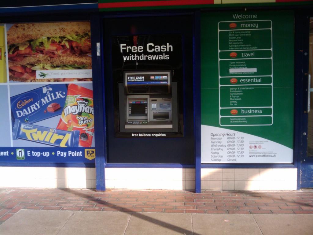 Cashpoint Info