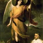 Saint Raphael the Archangel by Bartolomé Esteban Murillo