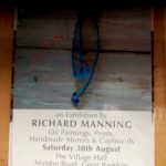 Richard Manning exhibition